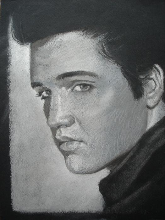 Elvis Presley by ceceach